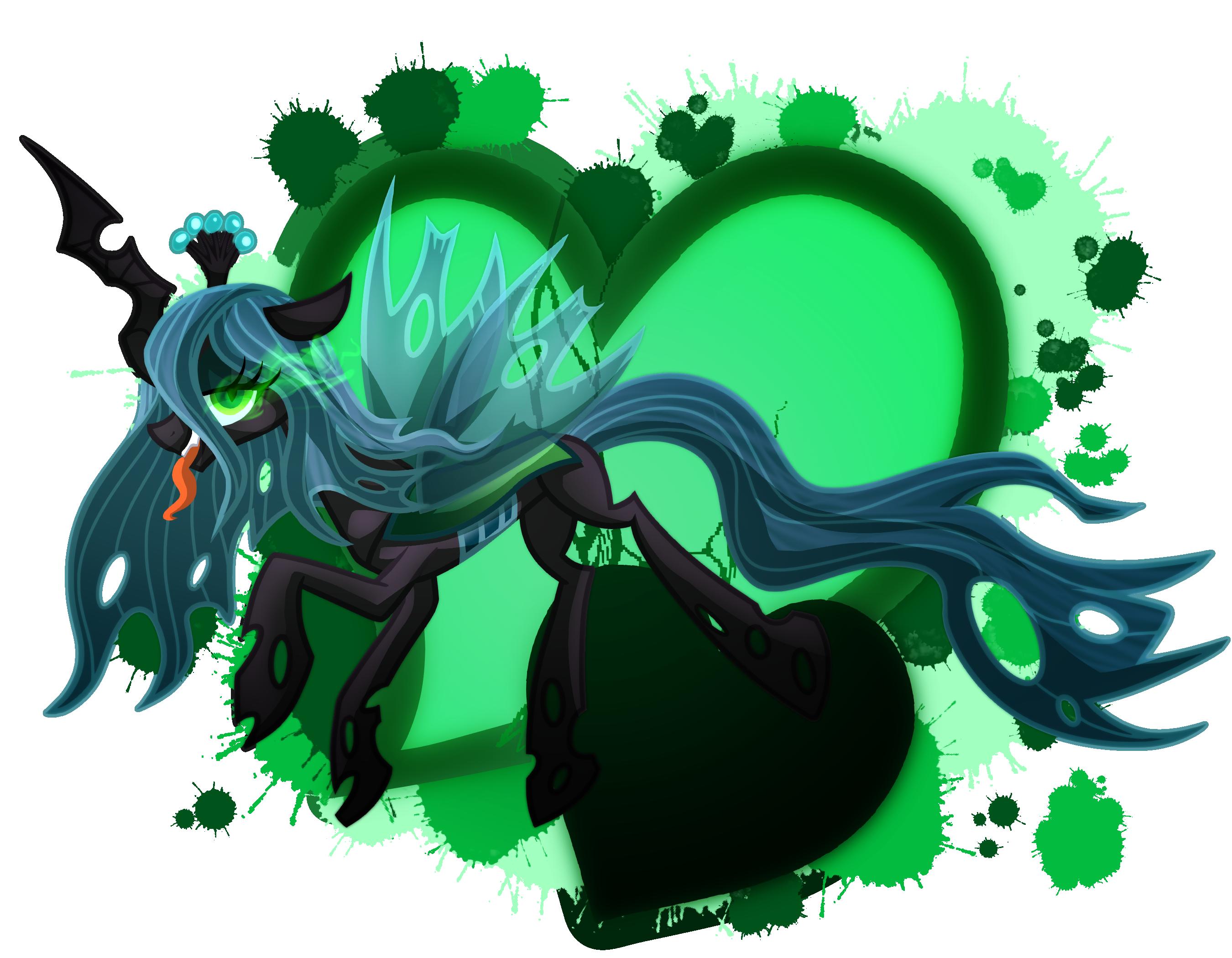 Ychan - f - mt little pony changelings - 129719