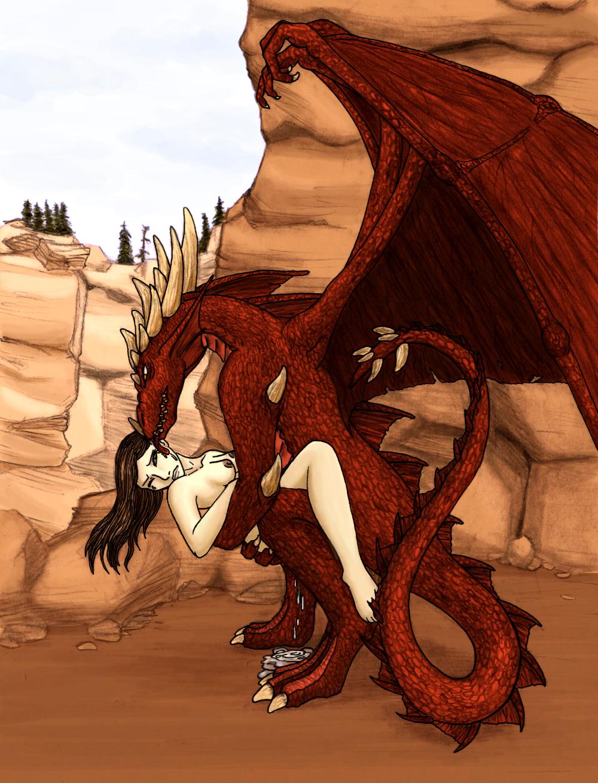 Девушки и драконы порно картинки